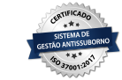 Logo do Certificado antissuborno